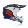 Мотошлем ACERBIS LINEAR  BLUE/WHITE