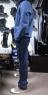 Мотокуртка джинсовая SM Racewear с защитой/без защиты